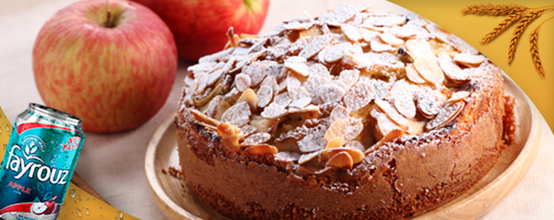 Apple Cake with Fayrouz Apple
