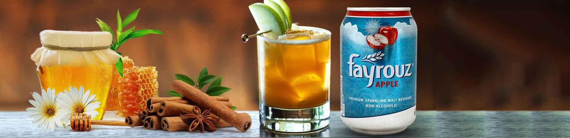Caramel Apple Cider Mocktail
