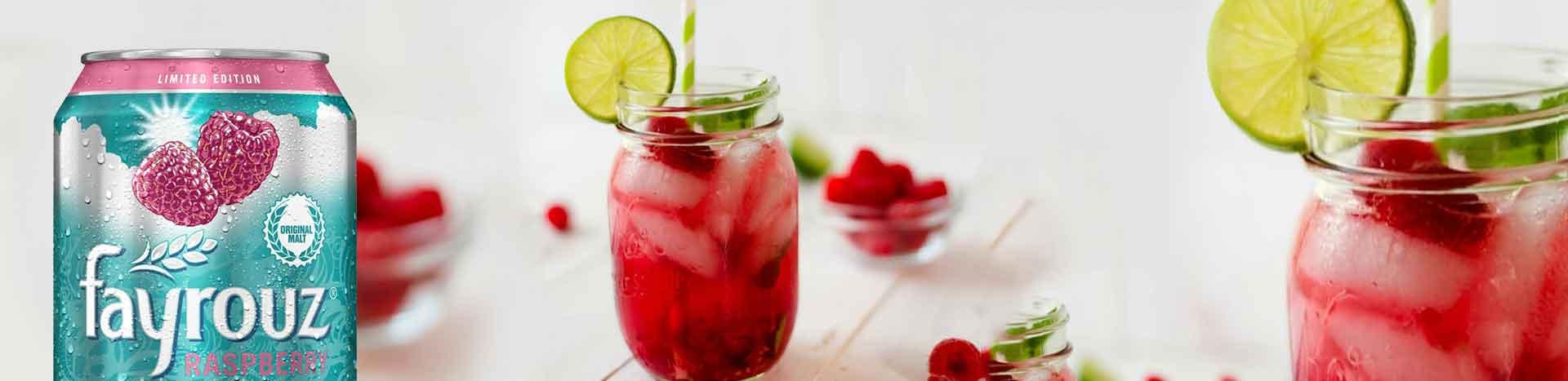 Raspberry Apple Mocktail