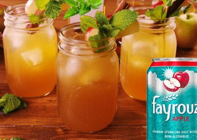 Summer With Apple Mint Mocktail