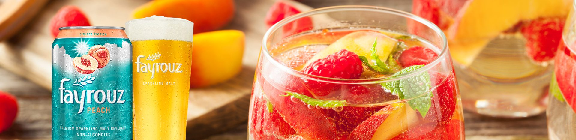 Sparkling Raspberries Mocktail