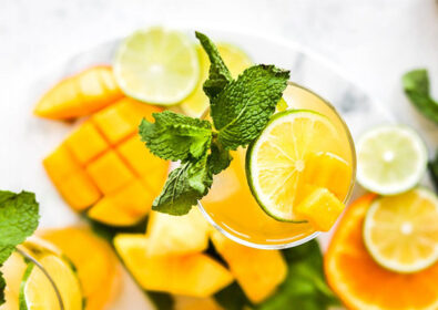 REFRESHING Mango Mocktail