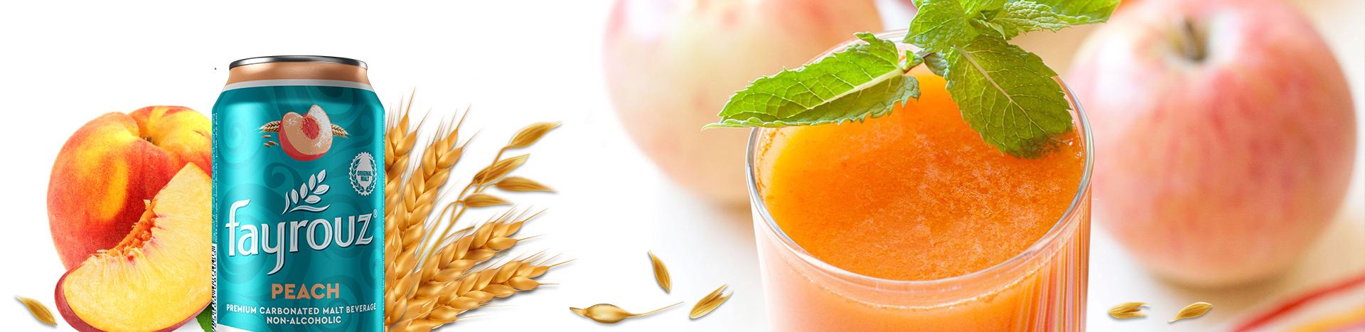 Frozen Peach Mojito