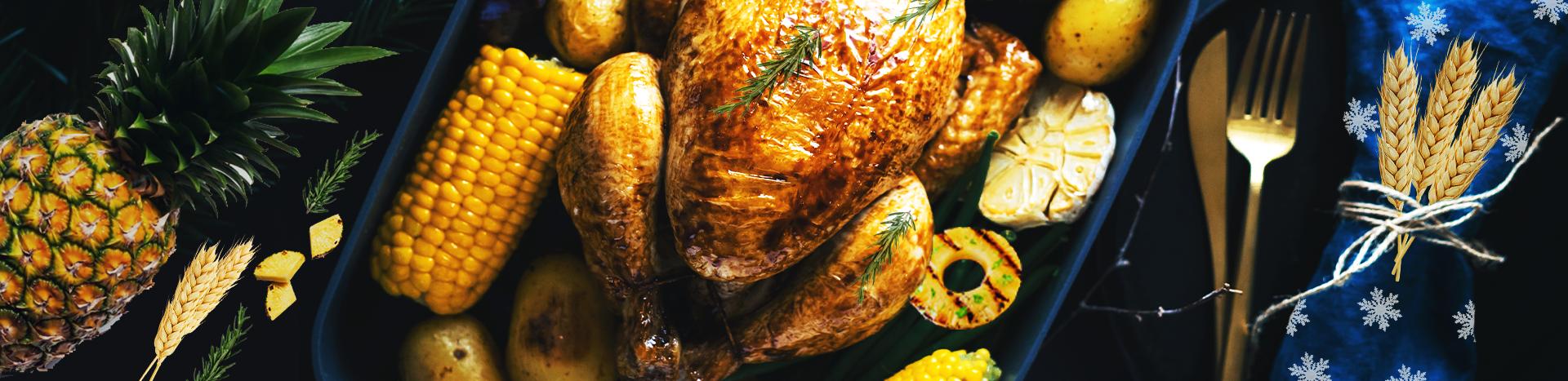 Turkey With Pineapple Glaze